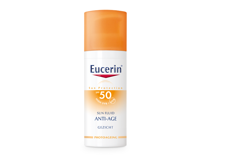 zonnebrandcrème , Eucerin sun anti age